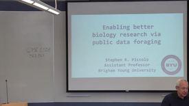 Thumbnail for entry BMI Graduate Seminar - Stephen Piccolo
