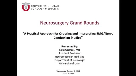 Thumbnail for entry A Practical Approach for Ordering and Interpreting EMG/Nerve Conduction Studies