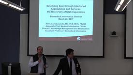 Thumbnail for entry DBMI Business Seminar- Kensaku Kawamoto, MD, PhD, MHS, FACMI