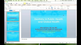 Thumbnail for entry Dentistry in Global Health