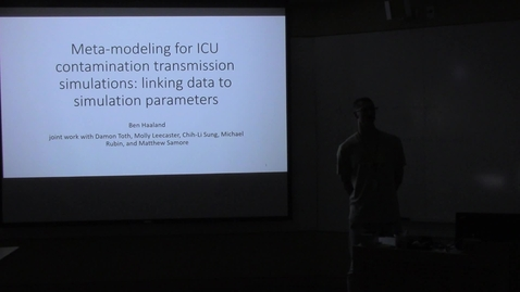 Thumbnail for entry Meta-modeling for ICU Contamination Transmission Simulations: Linking Data to Simulation Parameters
