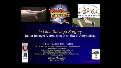 Thumbnail for entry R. Lor Randall, MD, FACS