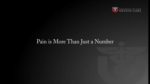 Thumbnail for entry Pain is More Than Just a Number© Rationale for Changes, Assessment and Reassessment