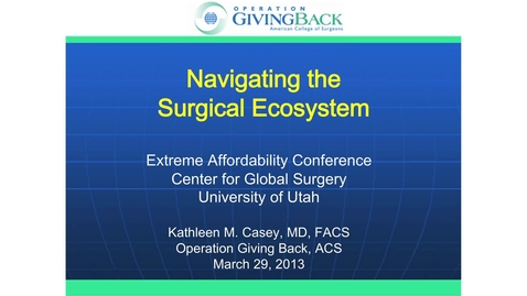 Thumbnail for entry Kathleen Casey, MD, FACS