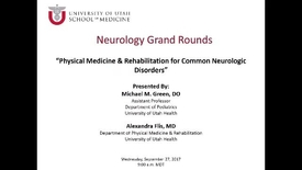 Thumbnail for entry Physical Medicine & Rehabilitation for Common Neurologic Disorders
