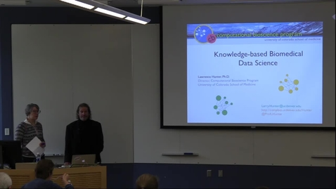 Thumbnail for entry Knowledge-based Biomedical Data Science