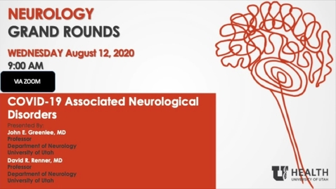 Thumbnail for entry COVID-19 Associated Neurological Disorders