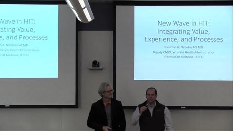 Thumbnail for entry DBMI Business Seminar-Jonathan Nebeker, M.D., M.S.