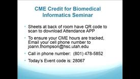 Thumbnail for entry BMI Graduate Seminar - Eric Kasowski