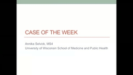 "Thumbnail for entry 9/29/17 Inpatient consultative dermatology. When a ""rash"" isn't just a rash"