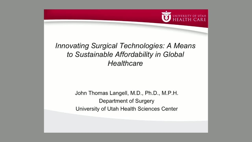 John T  Langell, MD, PhD, MPH - Endocrine , Oncology Surgery