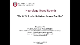 Thumbnail for entry The Air We Breathe: Utah's Inversions and Cognition