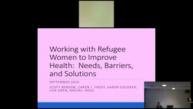 Thumbnail for entry Working with Refugee Women to Improve Health