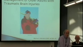 Thumbnail for entry Management of older adults with traumatic brain injuries March 21, 2012