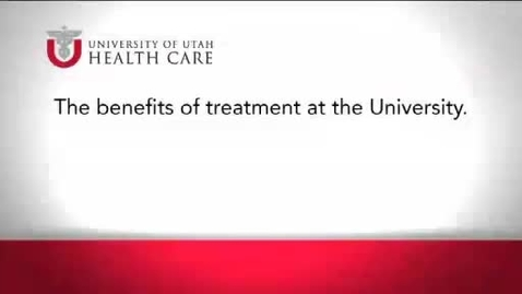 Thumbnail for entry The benefits of treatment at the University.