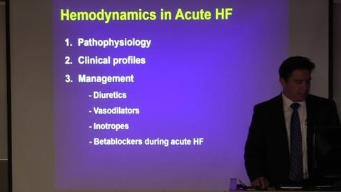 Thumbnail for entry Acute Heart Failure
