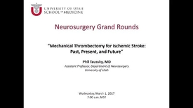 Thumbnail for entry Neurosurgery Grand Rounds 03-01-2017