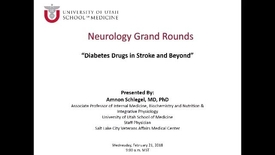 Thumbnail for entry Diabetes Drugs in Stroke and Beyond