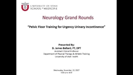 Thumbnail for entry Pelvic Floor Training for Urgency Urinary Incontinence