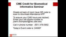 Thumbnail for entry BMI Graduate Seminar - Cindy Furse + Donna Ziggenfuss
