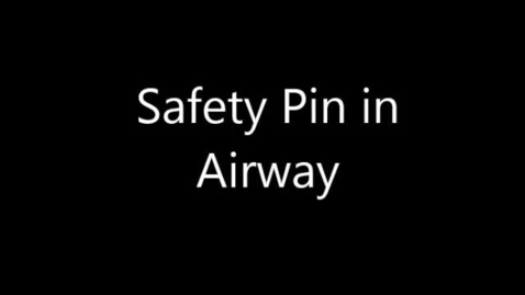 Thumbnail for entry Foreign Body - Safety Pin
