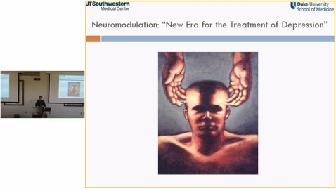 Thumbnail for entry Neuromodulation: A New Era in the Treatment of Depression