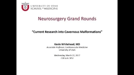 Thumbnail for entry Neurosurgery Grand Rounds 03-22-2017