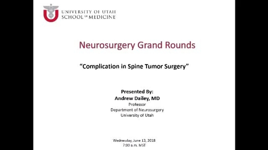 Andrew T  Dailey, MD - Neuro Spine Surgery , Neurosurgery