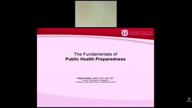 Thumbnail for entry The Fundamentals of Public Health Preparedness