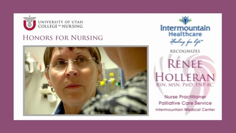 Thumbnail for entry IHC Recognizes Renee Holleran