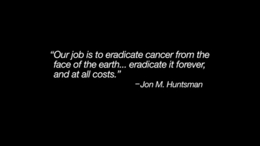 Annual Report to Our Community | Huntsman Cancer Institute