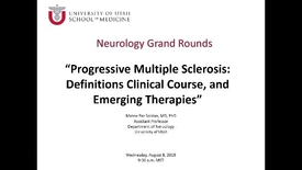 Thumbnail for entry Progressive Multiple Sclerosis: Definitions, Clinical Course, and Emerging Therapies
