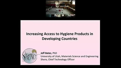 Thumbnail for entry Increasing Access to Hygiene Products in Developing Countries