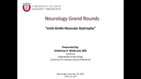 Thumbnail for entry Jack H. Petajan Lecture: Limb Girdle Muscular Dystrophy