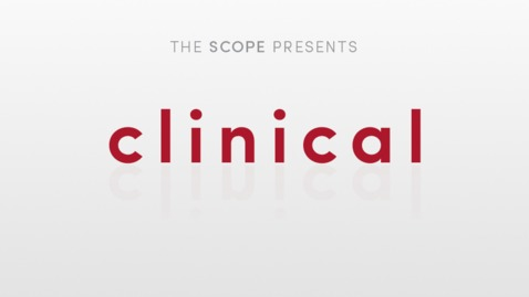 Thumbnail for entry This is 'Clinical'