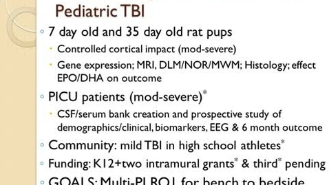 Thumbnail for entry Focus on Cognitive Outcome after Pediatric TBI