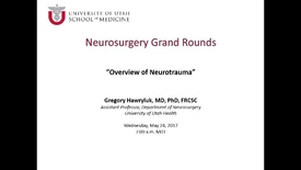 Thumbnail for entry Neurosurgery Grand Rounds 05-24-2017