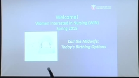 Thumbnail for entry Women Interested in Nursing - March 25th, 2015