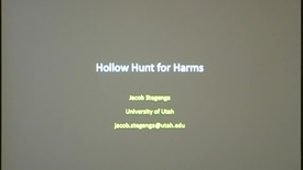Thumbnail for entry Hollow Hunt for Harms