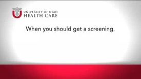 Thumbnail for entry When You Should Get a Screening?