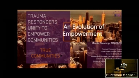 Thumbnail for entry 12/19/18 TRUE Communities: An Evolution of Empowerment