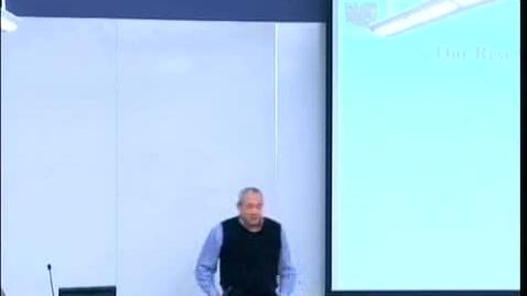 Thumbnail for entry Research Interests | Julio C. Facelli, PhD, University of Utah Biomedical Informatics | 2009-01-15 Part 1