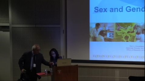 Thumbnail for entry Keynote: Dr Cornelison - introduced by Ana Maria Lopez