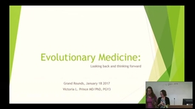 Thumbnail for entry Evolutionary Medicine: Looking back and thinking forward
