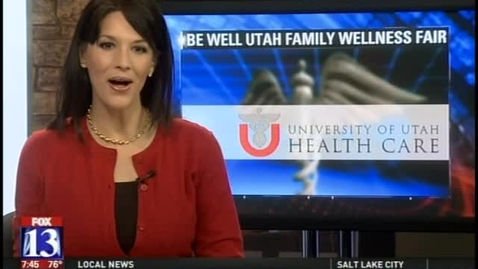 Thumbnail for entry Sun safety at Be Well Utah