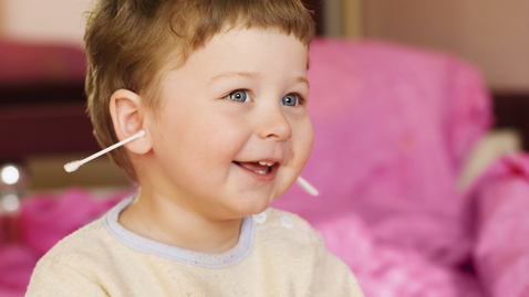 Thumbnail for entry What to Do About Your Child's Earwax