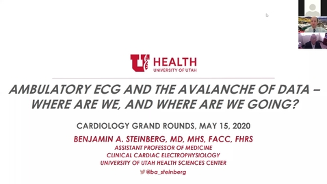 Thumbnail for entry Ambulatory ECG & the avalanche of data - Where are we, and where are we going?