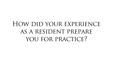 Thumbnail for entry General Surgery Residents