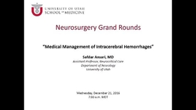 Thumbnail for entry Neurosurgery Grand Rounds 12-21-2016