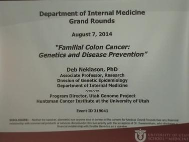 Grand Rounds U Of U School Of Medicine University Of Utah